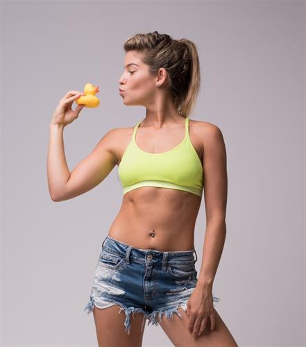 Y Back Top - Fitness Yellow