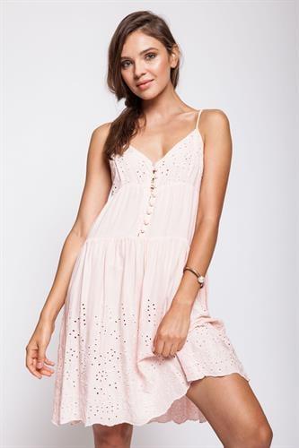 שמלת הילי ורוד