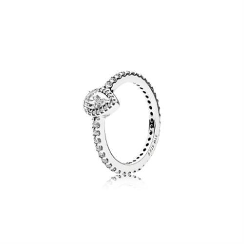טבעת כסף פנדורה 196254CZ