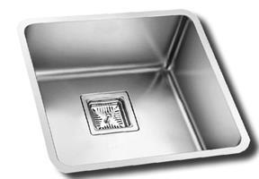 כיור מטבח יחיד תוצרת אולין דגם אנדורה 50