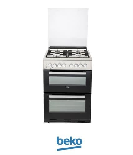 beko תנור משולב דו תאי מהדרין דגם KFDM62120DXDSL מתצוגה !