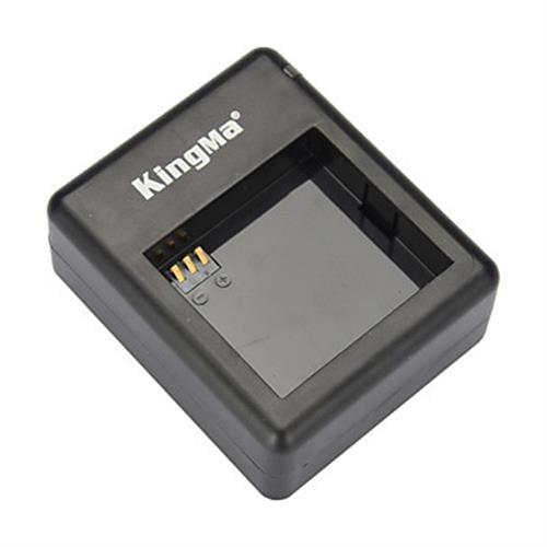 מטען ל2 סוללות למצלמה XIAOMI YI תוצרת KINGMA - ג׳יפר