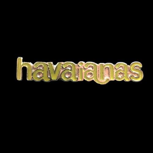 זוג קליפסים לוגו הוויאנס מלאים אמייל - צהוב