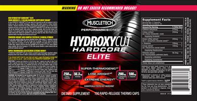 הידרוקסיקאט שורף שומן |Hydroxycut, Hardcore Elite, Rapid-Release Thermo Caps