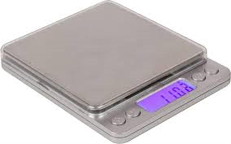 """משקל כיס 0.1 עד 2000 גר' בגודל 10*10 ס""""מ"""