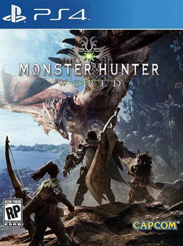 אירופאי Monster Hunter: World PS4