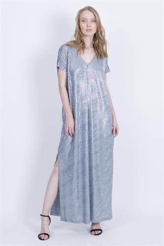 שמלת אליסון כחולה