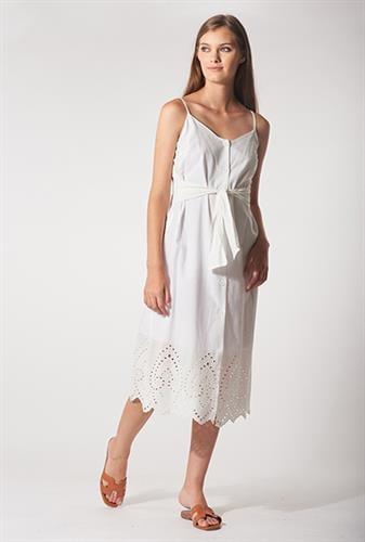 שמלת לורה קרושה לבנה
