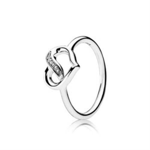 טבעת כסף חבלי אהבה 191022CZ