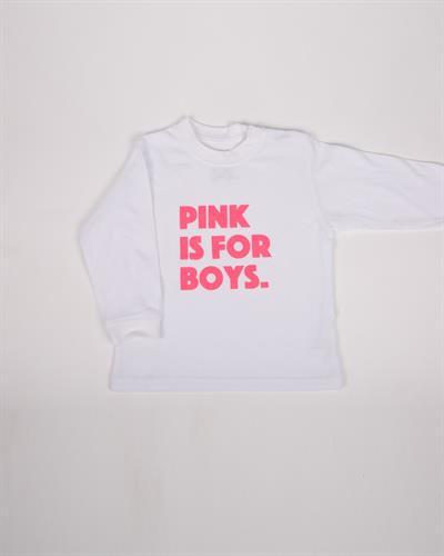 חולצת ילדים Pink is for boys