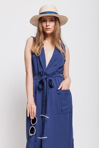 שמלת נבדה כחולה