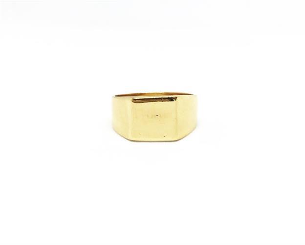טבעת חותם זהב