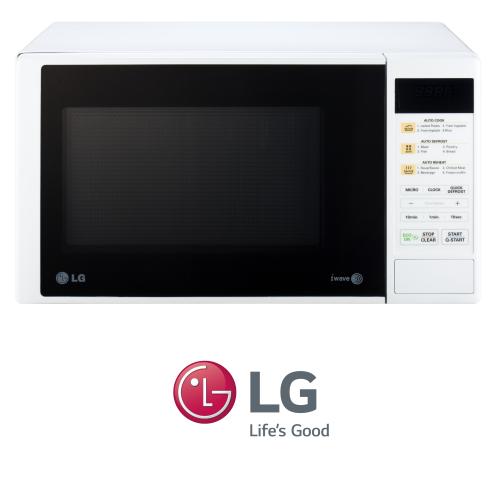 מיקרוגל LG דיגיטלי 23 ליטר דגם: MS-2342DW צבע לבן מעודפים