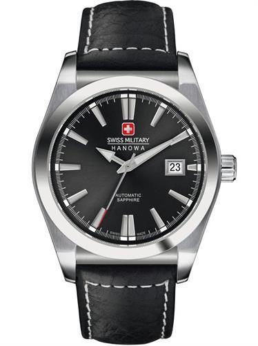 שעון יד אנלוגי גברים SWISS MILITARY HANOWA AUTOMATIC 06-4194.04.007