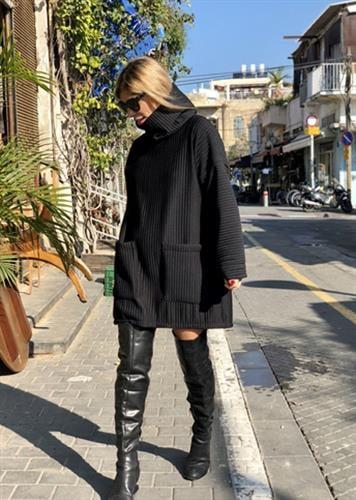 שמלת ארין שחורה