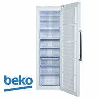 beko מקפיא 8 מגירות דגם: RFNE312L33W צבע לבן מתצוגה !