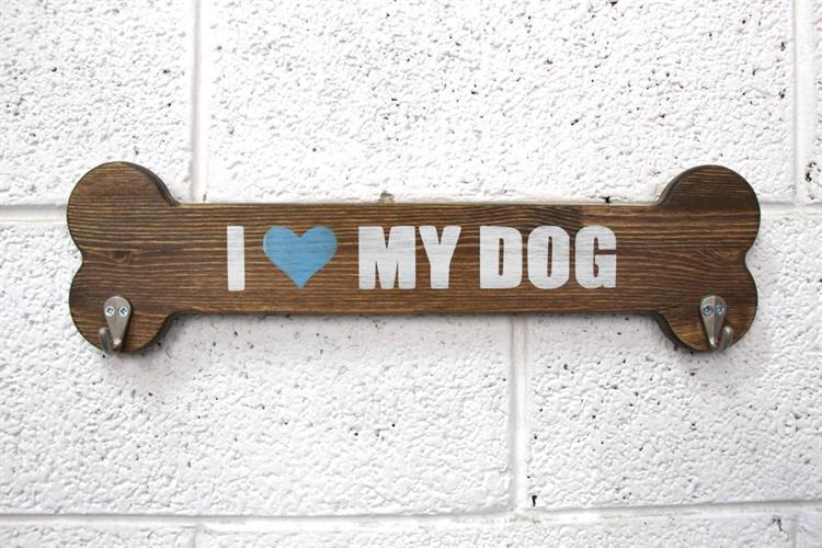 מתלה עצם - I LOVE MY DOG