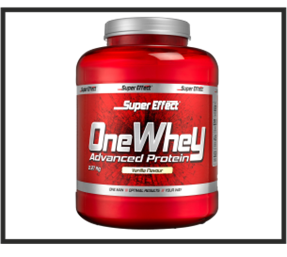 אבקת חלבון כשרה ONE WHEY  2.3kg  Super Effect  + שייקר מתנה