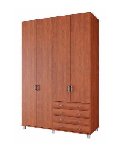 ארון 4 דלתות 4 מגירות דגם יהלום