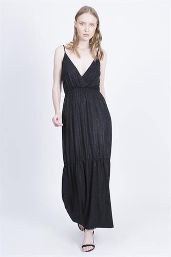 שמלת אנה שחור לורקס