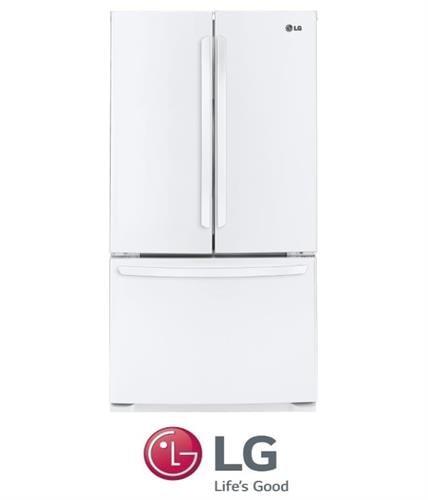 LG מקרר 3 דלתות דגם GR-B264MAW לבן מתצוגה !