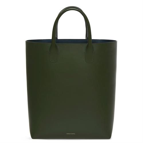 NORTH SOUTH TOTE CALF MOSS