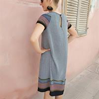 שמלת אמבר בוהו