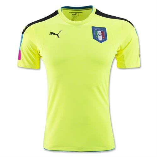 חולצת איטליה צהוב שוער 2016