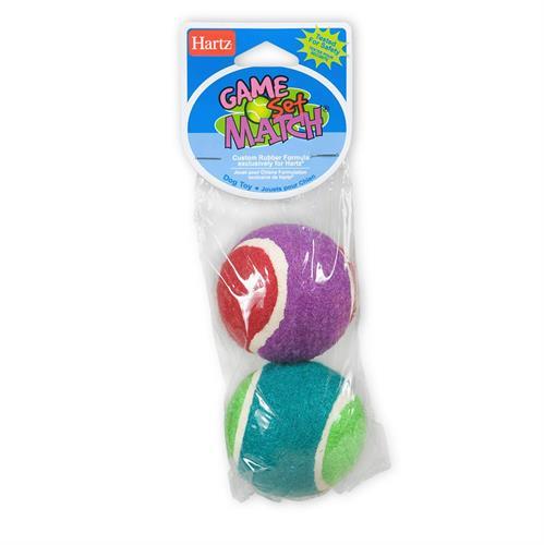 זוג כדורי טניס צבעונים
