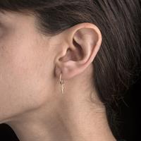 HOOP PENDULUM EARRING