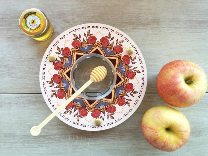 כלי לדבש ותפוחים Dvash_11