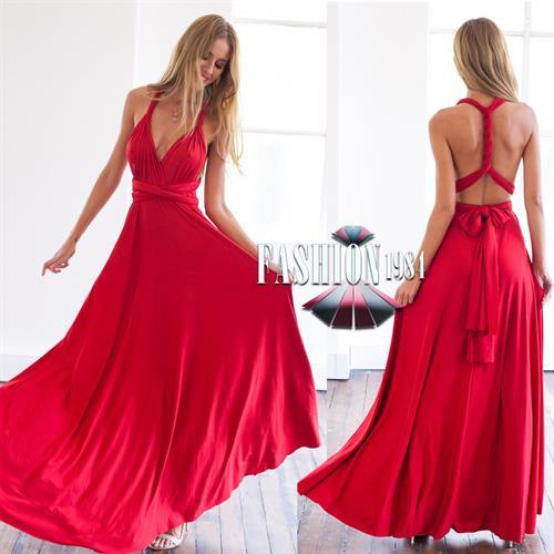 שמלת מקסי מעוצבת דגם לינדה