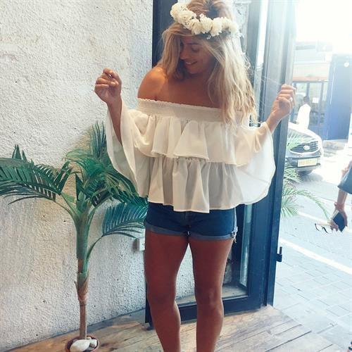 חולצת איזבלה לבנה