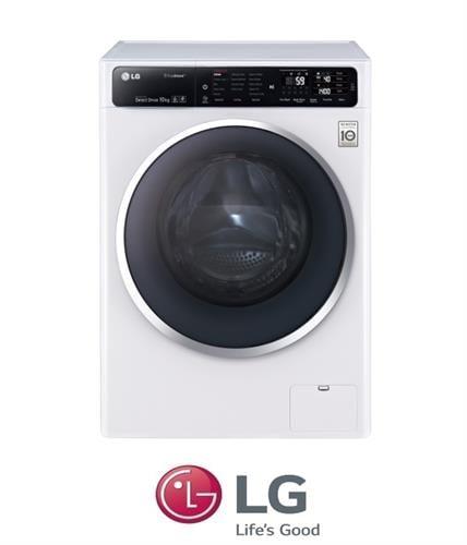 """LG מכונת כביסה 10.5 ק""""ג דגם F111400W מתצוגה !"""