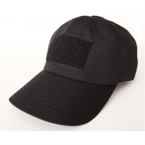 כובע טקטי עם פאטצ' צבע שחור