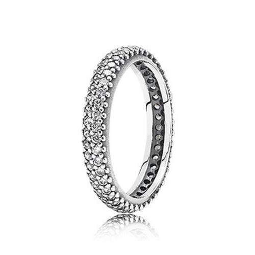 טבעת כסף פנדורה 190909CZ