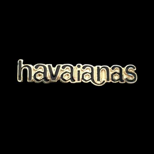 זוג קליפסים לוגו הוויאנס מלאים אמייל - שחור
