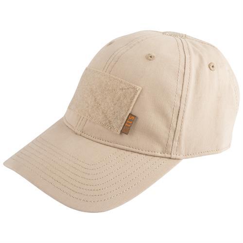כובע טקטי חאקי 5.11 FLAG BEARER CAP