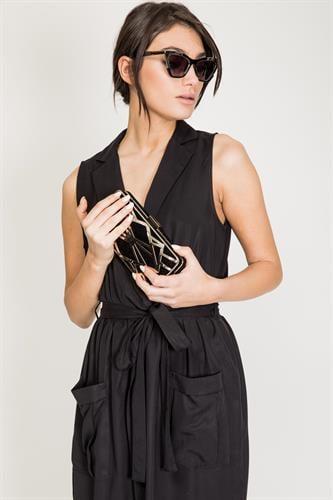 שמלת נבדה שחורה