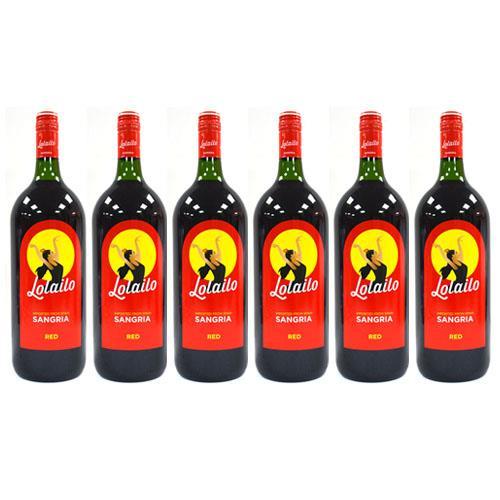 שישיית סנגריה לוליילו בבקבוק 1.5 ליטר