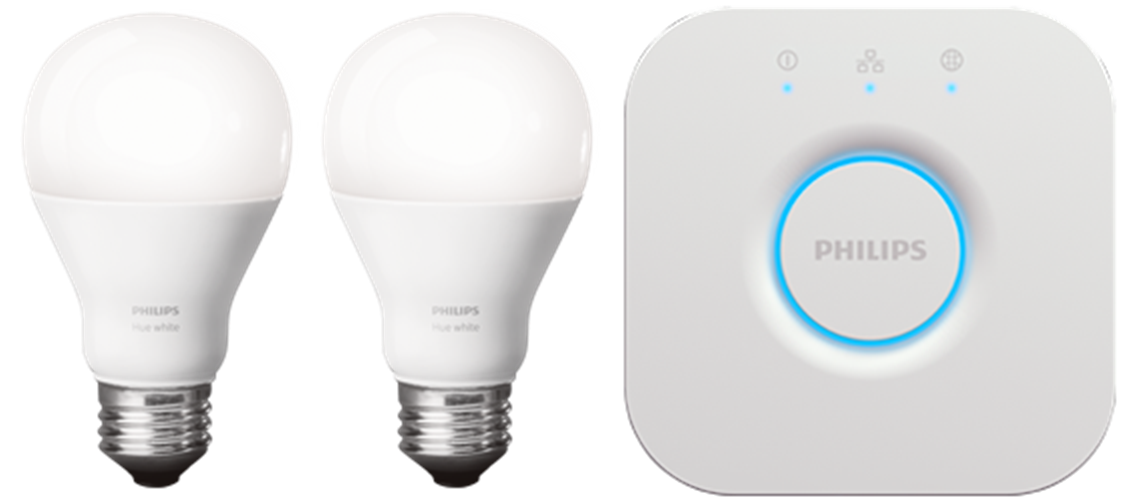 The New Philips Hue white starter kit
