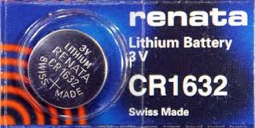 סוללות ליטיום RENATA LITHIUM CR1632
