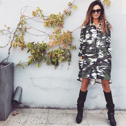 שמלת ברוקלין צבאי
