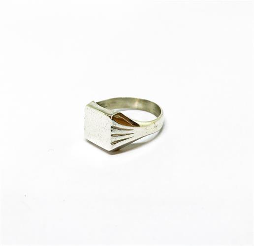 טבעת חותם לגבר אודי