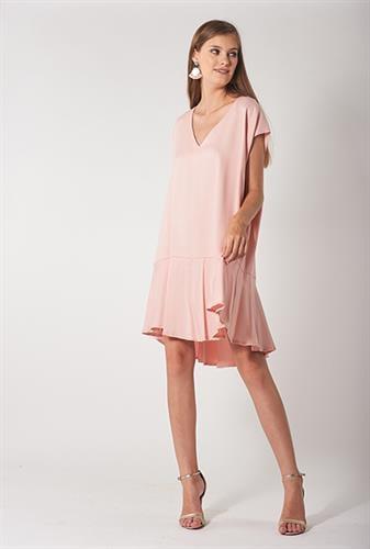 שמלת סיה ורודה