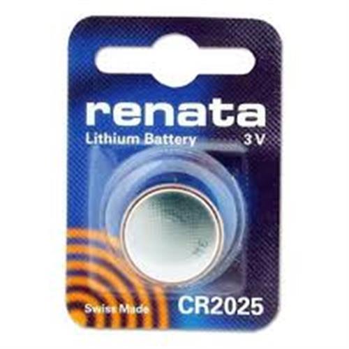 סוללות ליטיום רנטה RENATA LITHIUM CR2025