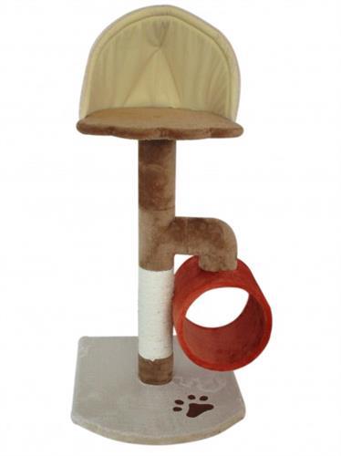 מתקן גירוד וישיבה לחתולים דגם גליל איגלו