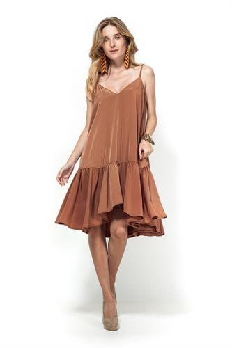 שמלת מיה קאמל