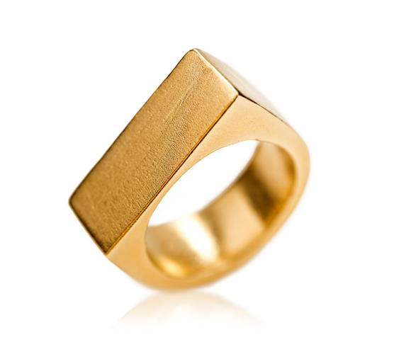 טבעת פול זהב