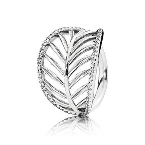 טבעת כסף פנדורה 190952CZ